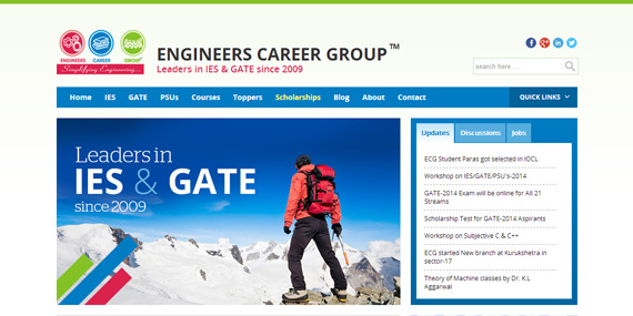 Engineers Career Group - Homepage