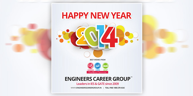 Engineers Career Group - New Year eGreeting
