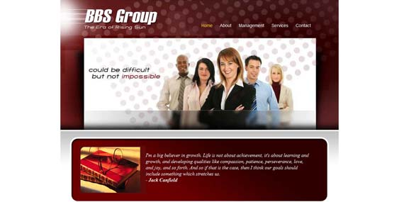 BBS Group - Website