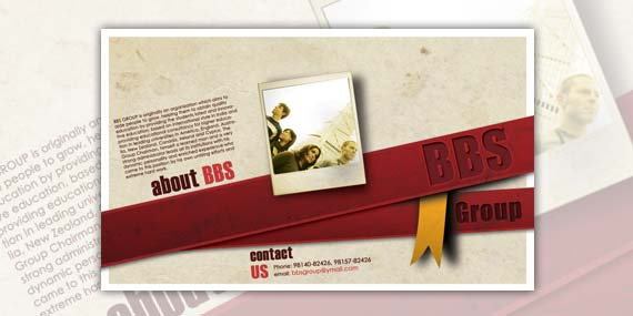 BBS Group - Flyer design