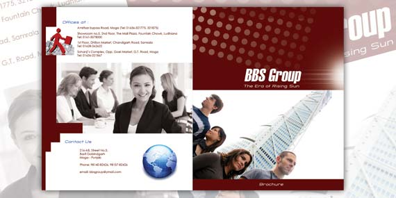 BBS Group - Brochure design