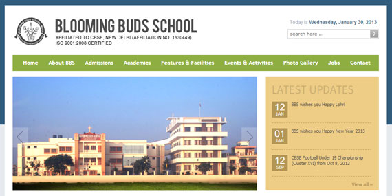 BBS, Moga - Website