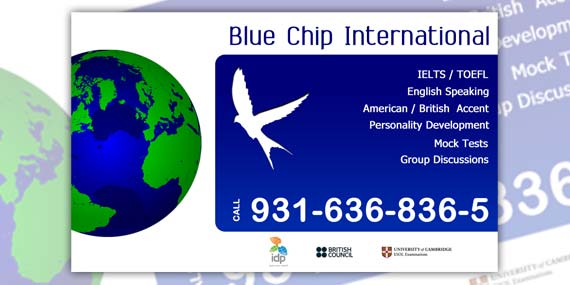Blue Chip - Business card