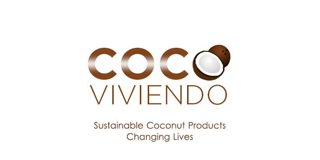 Coco Viviendo Logo Design