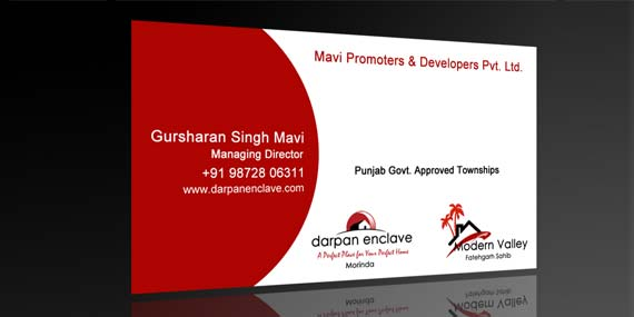 Darpan Enclave - Business Card