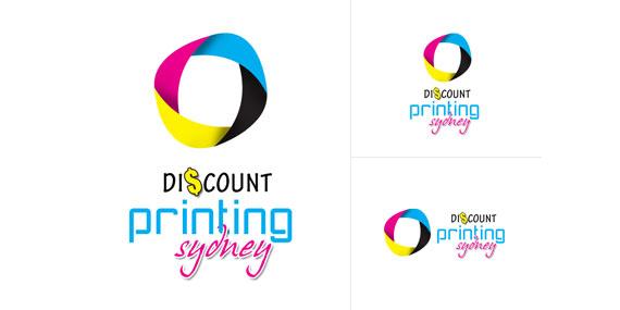 Discount Printing Sydney Logo Design