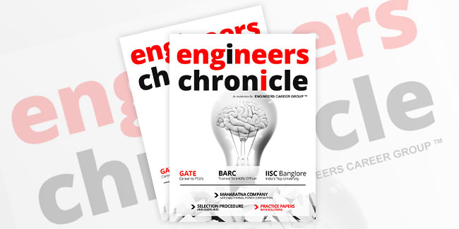 Engineers Chronicle Magazine - Cover Page Design