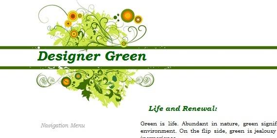 Designer Green