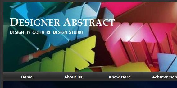 Designer Abstract