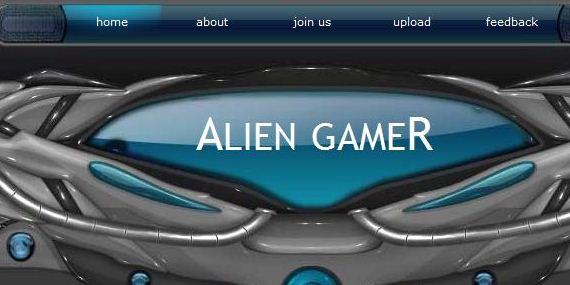 Games Web Template