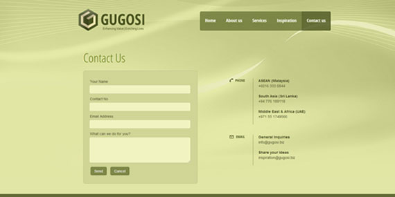 Responsive Website Design - Gugosi Resources Ltd