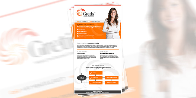 HR Outsourcing Company - eNewsletter Design