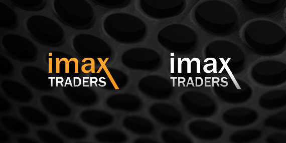 IMAX Traders Logo Design