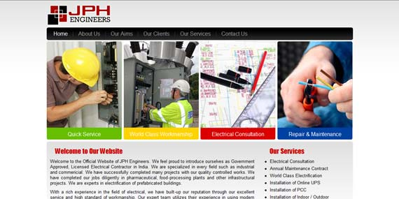 JPH Engineers - Website