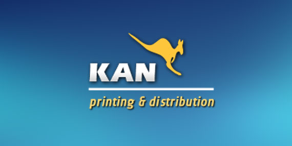 Kan Printing and Distribution Logo Design