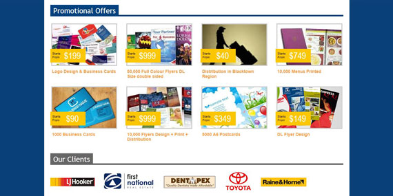 Kan Printing and Distribution Promotional Offers
