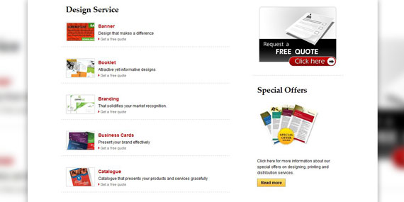 Leaflet Distribution Sydney - Web Design