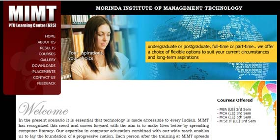 MIMT Morinda - Website