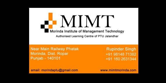 MIMT Morinda - Business Card