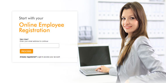 Online Employee Registration Portal