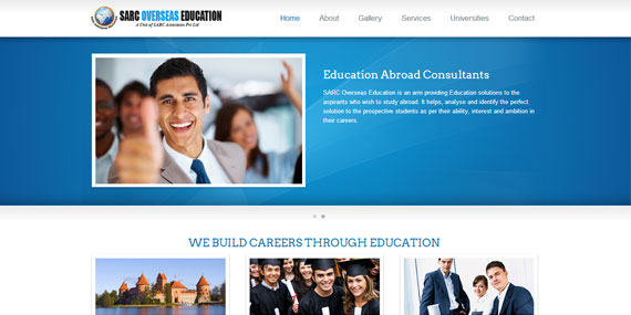 SARC Overseas Education consultants website