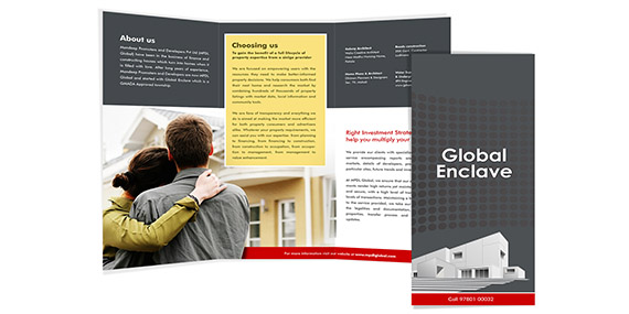 Real Estate Brochure Design