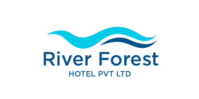 River Forest Hotel Logo Design