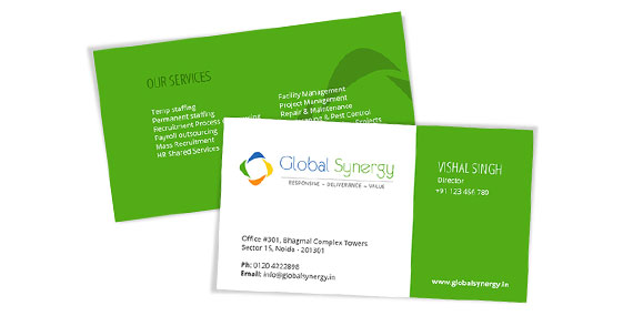 Staffing and Recruitment Company - Business Card design