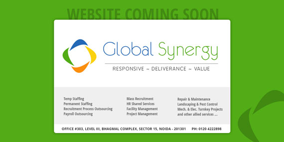 Coming Soon webpage design