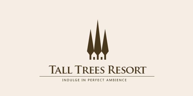 Tall Trees Resort Manali Logo Design