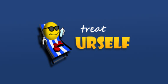 Treat UR Self - Logo Design